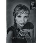 Портрет по фотографии на заказ, цены портретов в Москве фото