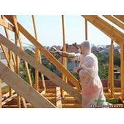Огнезащита деревянных и металлических конструкций фото