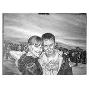 Портрет, бумага\карандаш, 30х40см фото