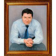 Портрет на холсте фото