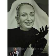 Женский портрет в образе актрисы Дитрих фото