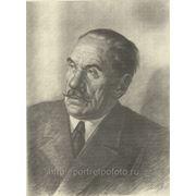 Портрет натурщика карандаш, рисунок карандашом фото