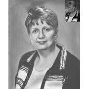 Женский портрет с фотографии, портрет по фото, портрет на заказ фото