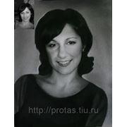 Женский портрет на заказ с фотографии, заказ портрета, заказать портрет по фото фото