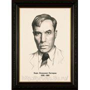 Портрет карандашом писателя Булгакова,карандашный портрет фото
