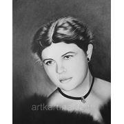 Заказ портрета у художника со старой фотографии фото