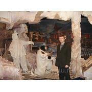 Художник Владислав Протасов у Панарамы музея Великой Отечественной войны, Художник, Заслуженный художник фото