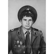 Заказать портрет мужчины в военной форме фото