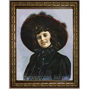Художественный портрет, живописный женский портрет маслом, портрет на заказ фото