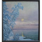 «Зимняя сказка». Пейзаж с фото. фото
