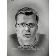 Портрет Харламова.Портрет на заказ по фото фото