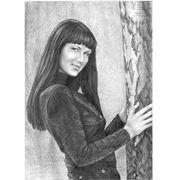 Портрет по фотографии карандаш фото