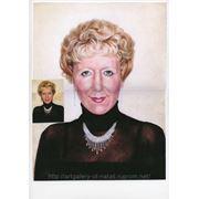 Портрет по фотографии пастель карандаш бумага фото