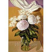 Цветы в картонке фото