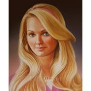 Портрет девушки,Картина, Маслом на холсте фото