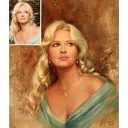 Подарок портрет по фотографии день рождение свадьба юбилей донецк