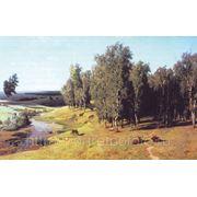 Летний день, копия художника Орловского Владимира фото