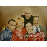 Заказать семейный портрет с фотографии фото