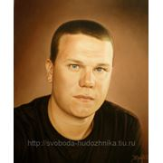Портрет парня,Картина, Маслом на холсте фото