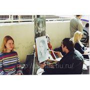 Выполнение портрета на заказ Арбат 1999год фото