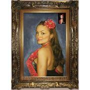 Женский портрет с фотографии маслом в Москве фото