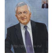 Портрет маслом на холсте по фото фото