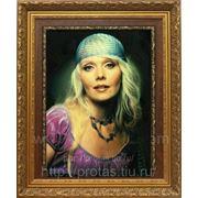 Портрет певицы Валерии маслом на холсте, портреты на заказ фото