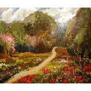 Название картины «Сияющее лето» картина на заказ, Покупка картин, Картины продажа, Пленэр фото