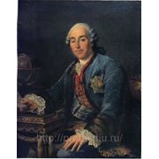 Портрет князя Д. М. Голицына копия Франсуа Гюбера Друэ Младшего фото