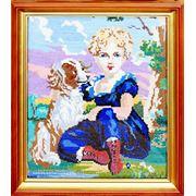Девочка с собачкой фото