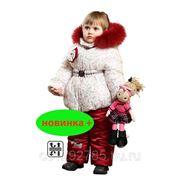 """Комплект """"Бантики"""" для девочки от 2 до 6 лет с верхом из мембраной ткани фото"""