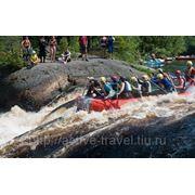 Активные выходные сплав на реке Уксе фото