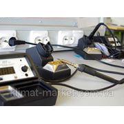 Пайка нагревательного кабеля с питающим кабелям фото