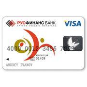 Услуги по обслуживанию кредитных карт VISA фото