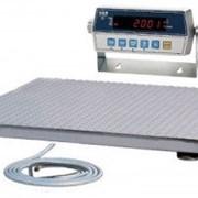 Платформенные весы СКН1212 (CI-2001A) 2 из нержавеющей стали фото