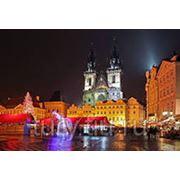 Католическое Рождество в Праге фото