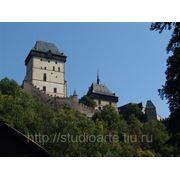 Свадьба в Чешском замке Карлштейн фото
