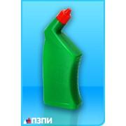 Пластиковый флакон под средства для унитазов Ф32 фото