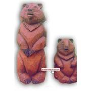 Скульптуры медведи фото