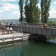 Металлоконструкции для гидроэлектрических сооружений. фото