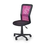Кресло компьютерное Halmar COSMO (черно-розовый) фото