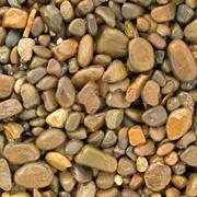 Галька речная Ручейник (жёлтый) фото