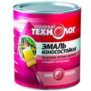 Эмаль для систем отопления Главный Технолог супер белая матовая 0,5 кг. фото