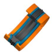 Шевронные уплотнения, гидравлические манжеты CARCO для тяжелой гидравлики и уплотнения валов больших диаметров