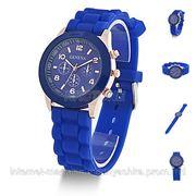 Часы женские Geneva синий фото