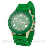 Часы женские Geneva зеленые фото