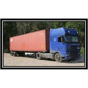 Transportation of containers from the ports of Odessa and Ilyichevsk in Moldova and back. фото