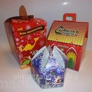 Коробка Алма Графикс для новогодних подарков