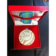 Медаль наградная сувенирная фото