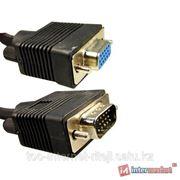 Удлинитель VGA (D-Sub) 15Male/15Female (5м). фото